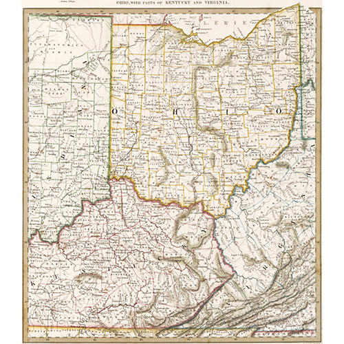 Ohio w/ Parts of Kentucky & Virginia