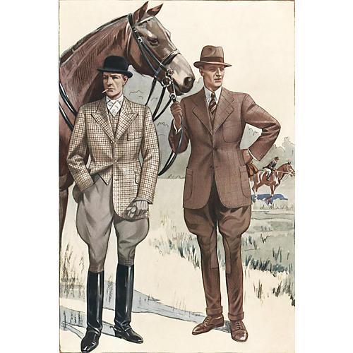 Men's Equestrian Style, 1936