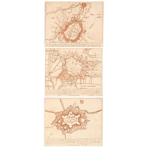Maps of Bethune, Douai & St. Venant, S/3