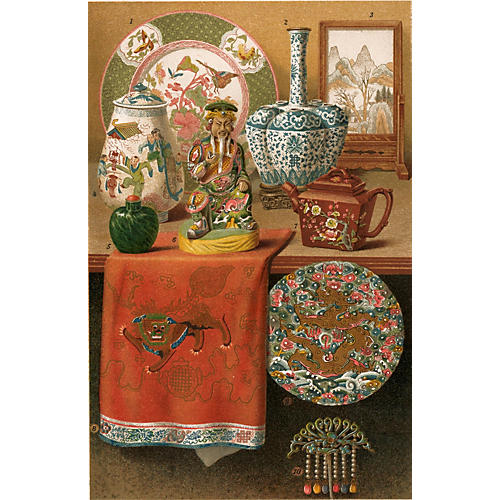 Chinese Art Objects, C. 1895