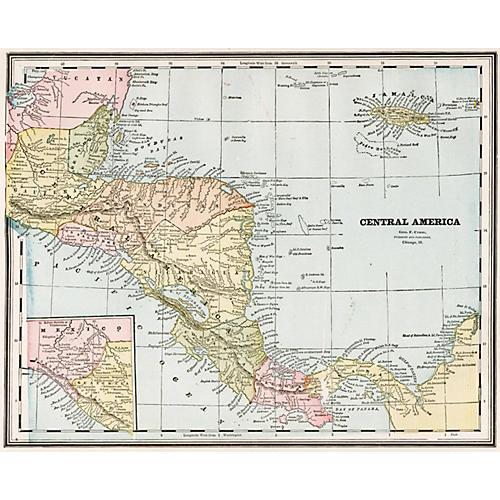 Central America, 1889