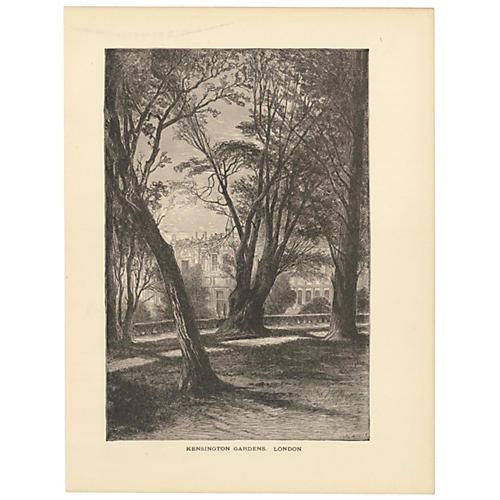 Kensington Gardens, London, 1888