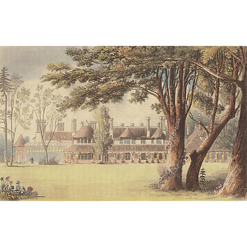 English Royal Country House, 1823