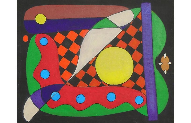 Geometric Abstract, 1980s