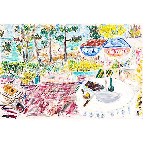 Al Fresco, Carmel, California, 1985