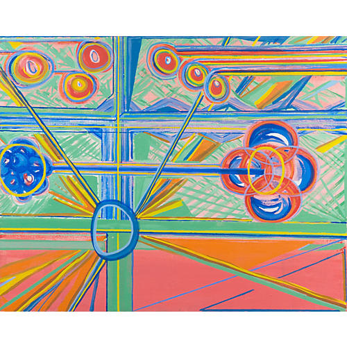 Large Futurist Abstract, 1971