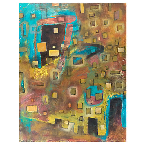 1980s Abstract by Haleh Armstrong