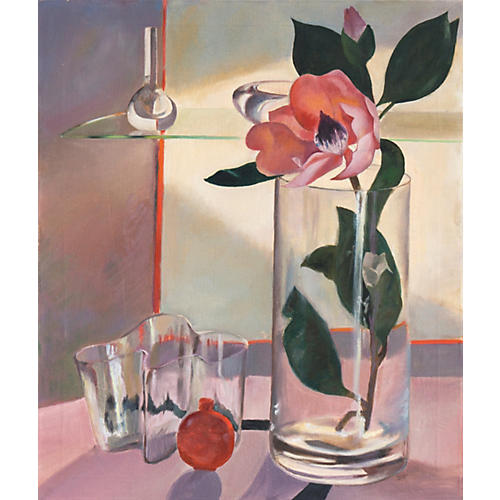 Surreal Still Life with Magnolia, 1940s
