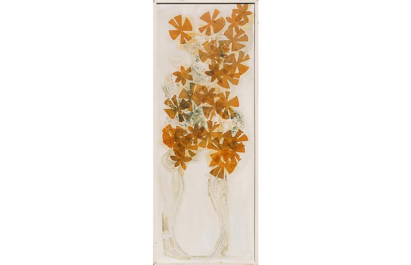 Still Life of Flowers, 1961