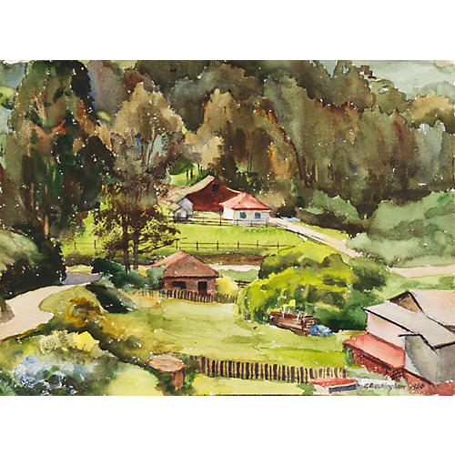 Country Landscape, 1966