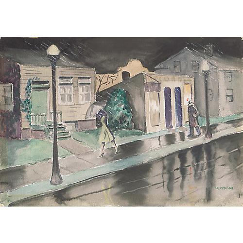 Noir Detective by F.C. McQuillan, C.1955