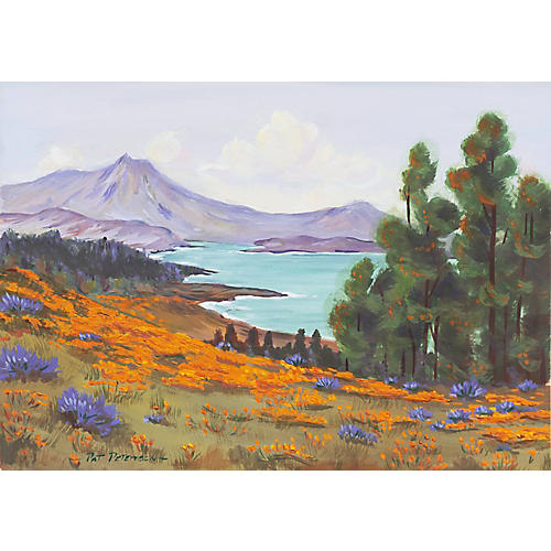 Mount Tam by Pat Peterson, C. 1965