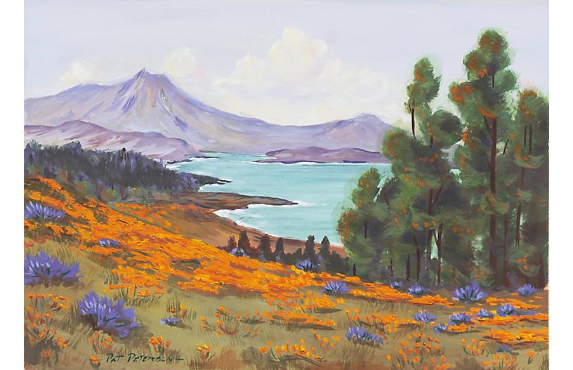 Mount Tamalpais by Pat Peterson, 1960s