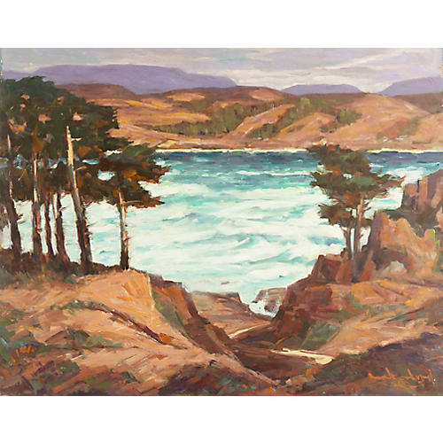 Carmel Coast by Frederick Korburg, 1969
