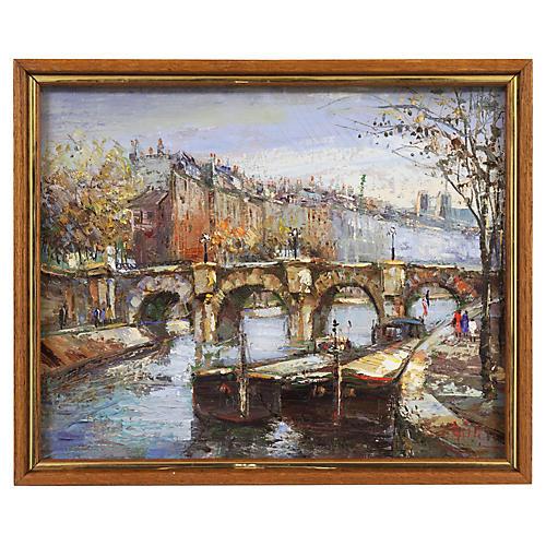 The Seine & Notre Dame, 1960s