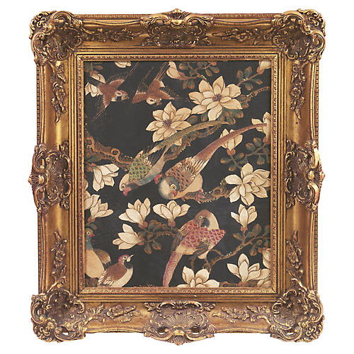 Songbirds & Magnolia Blossoms, C. 1880