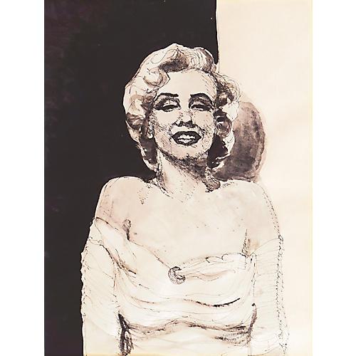 Portrait of Marilyn Monroe, 1980