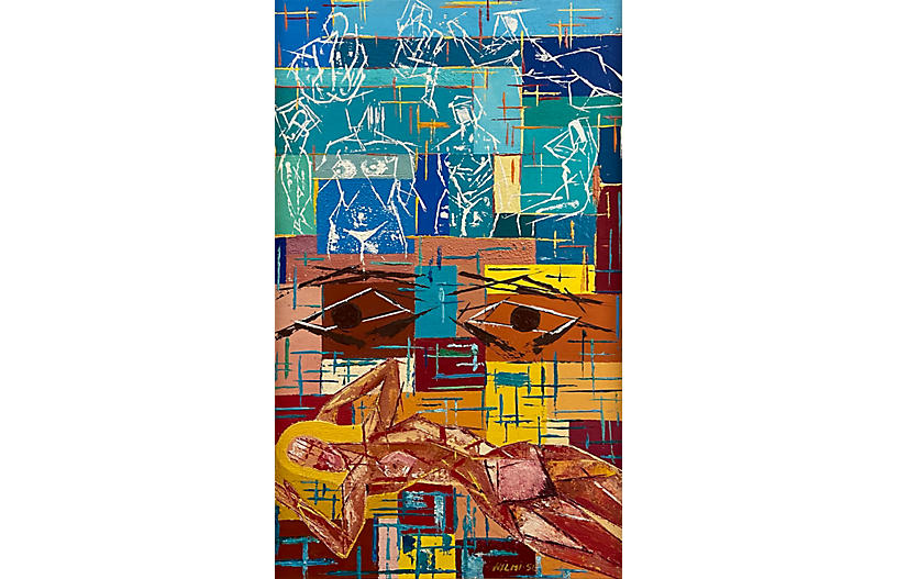 Modernist Abstract, 1956