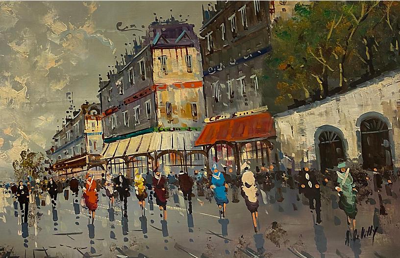 Paris in the Rain, 1960s