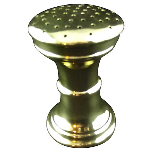 Polished Brass Talc Shaker