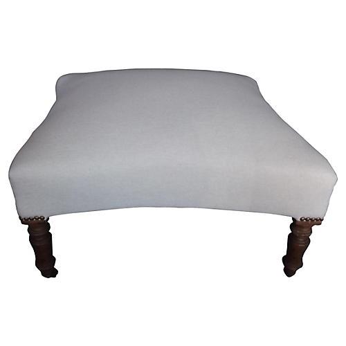 Napoleon III-Style Pouf