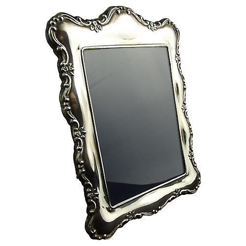 English Sterling Photo Frame