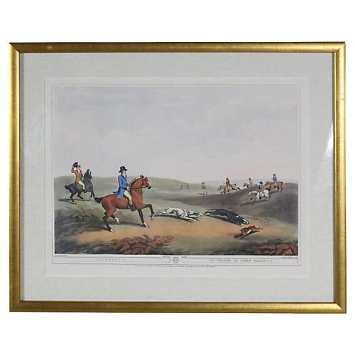 English Hunting Print