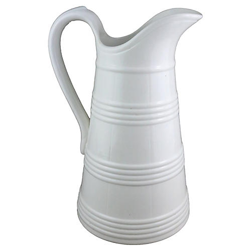Belgian Ironstone Milk Jug