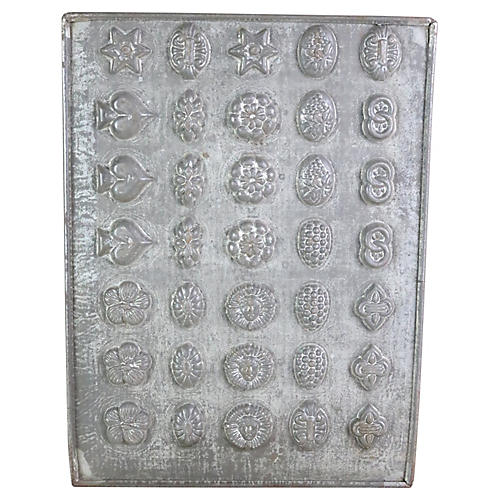 English Chocolate Mold