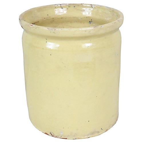 French Pottery Jam Crock