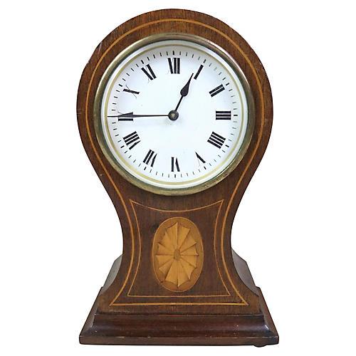 English Edwardian Mantel Clock