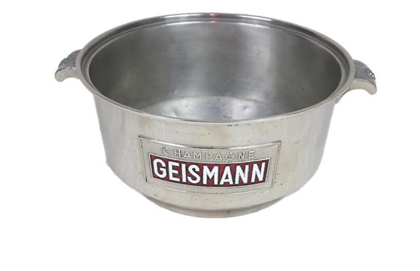 Rare Champagne Geismann Cooling Bucket