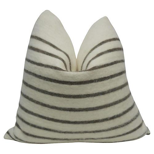 Berber Handloomed Natural Wool Pillow