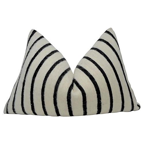 Berber Wool & French Linen Pillow