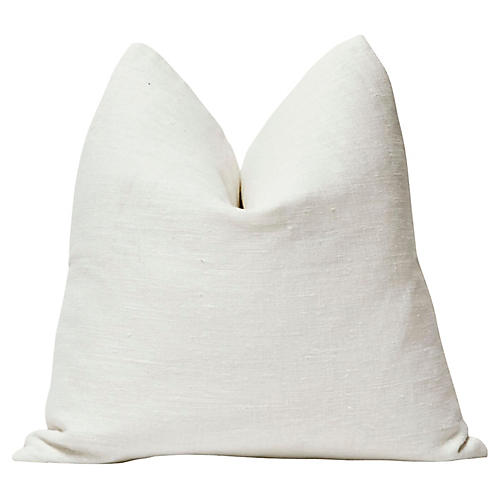 Tulum Salt Linen Pillow