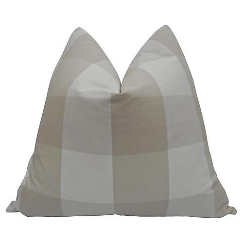 Linen Plaid Pillow