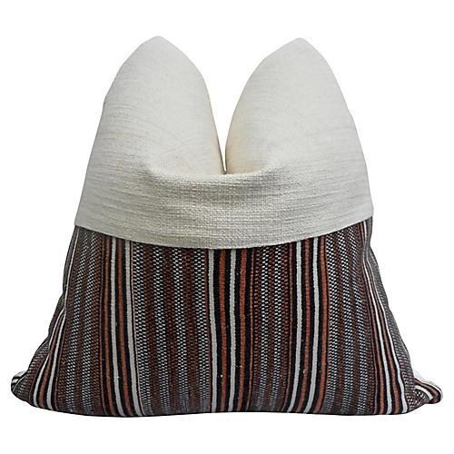 Gitano Ivory & Nomadic Tribal Pillow