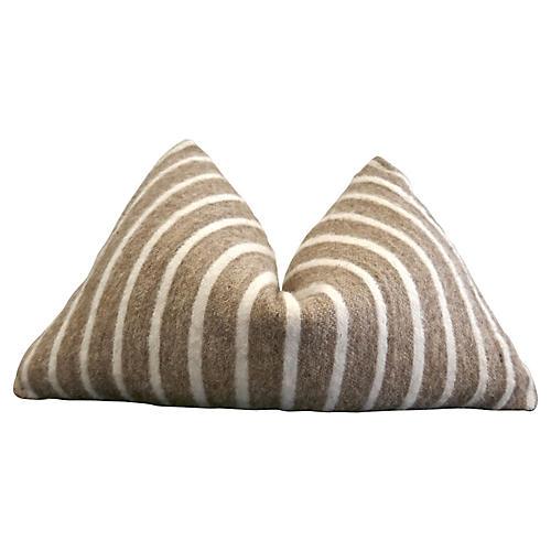 Berber Toffee Wool & Linen Pillow