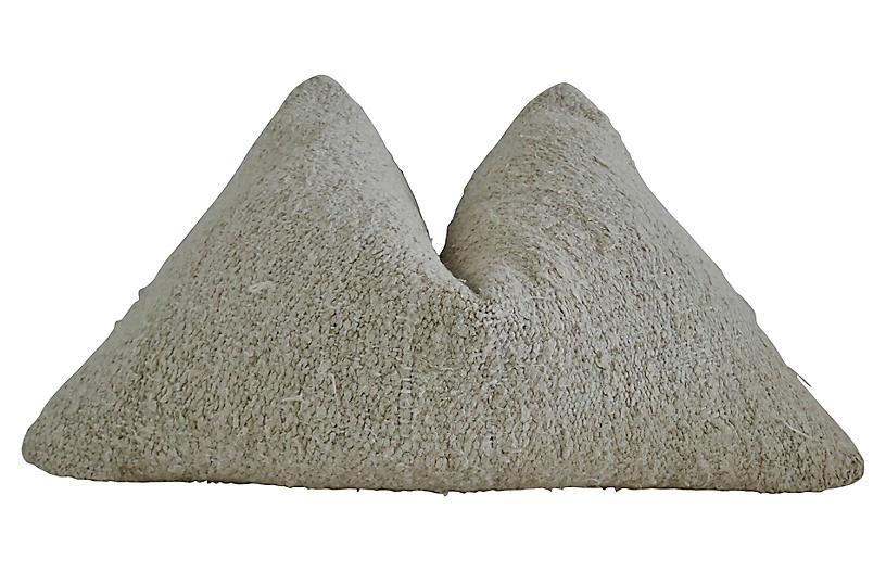Berber Handwoven Natural Kilim Pillow