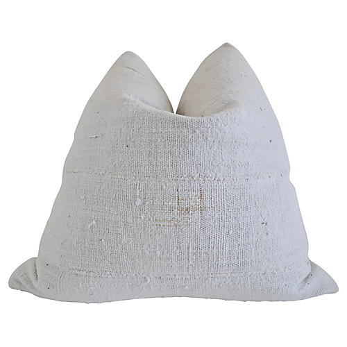 Mali Tribal Natural Hand-Spun Pillow
