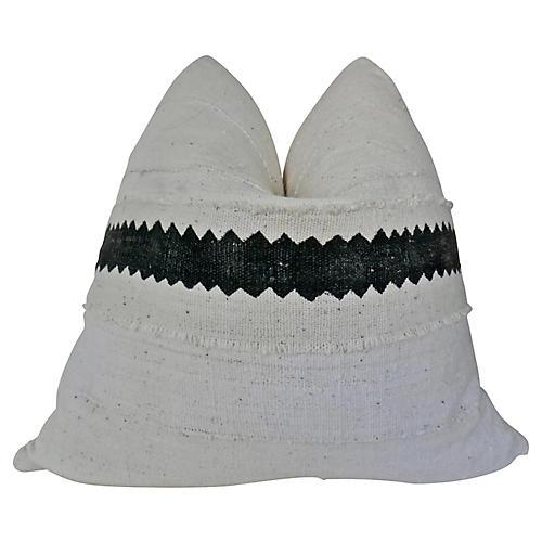 Mali Natural Mudcloth Pillow