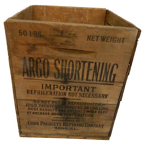 Dry Goods Crate