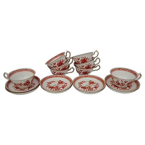 Royal Crown Derby Tea Set, Svc for 8
