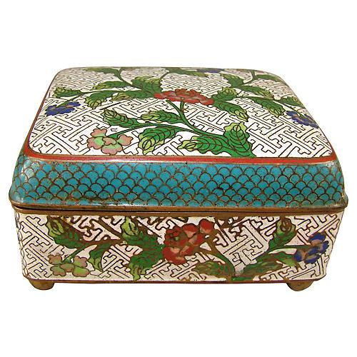 Chinese Cloisonné Box