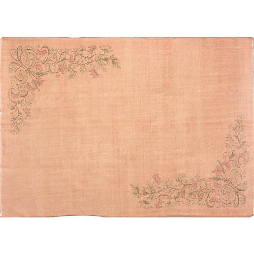 Turkish Whitewash Rug, 7' x 10'2""