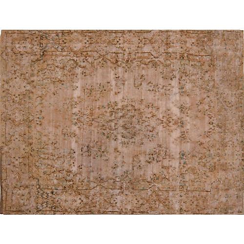 """Persian Kerman Carpet, 9'6"""" x 13'2"""""""
