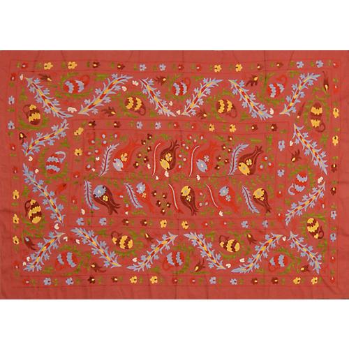 Uzbek Suzani w/ Flowers