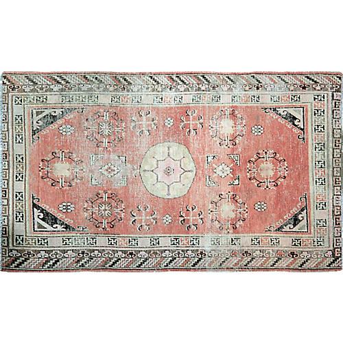 Antique Khotan Rug,5'x9'