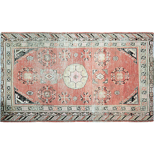 Antique Khotan Rug,5'x9'