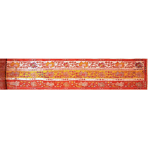 "Antique Oushak Runner Rug,2'10""x20'3"""
